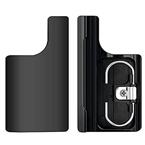Obsyn Replacement CNC Aluminum Clip Lock Buckle Mount Rear Snap Latch for GoPro Hero 3+ 4 Standard Housing Case Black
