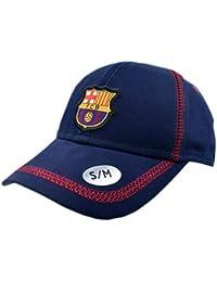 Gorra Basic Azul Junior FC. Barcelona - Producto Licenciado - Talla S/M niño