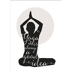 Póster 80 x 110 cm: Yoga de Amy and Kurt Berlin - impresión artística de alta calidad, nuevo póster artístico