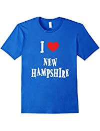 I Heart Love New Hampshire State T-shirt Gift Unisex