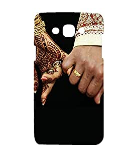 printtech Hero Sketch Back Case Cover for Samsung Galaxy Core 2 G355H