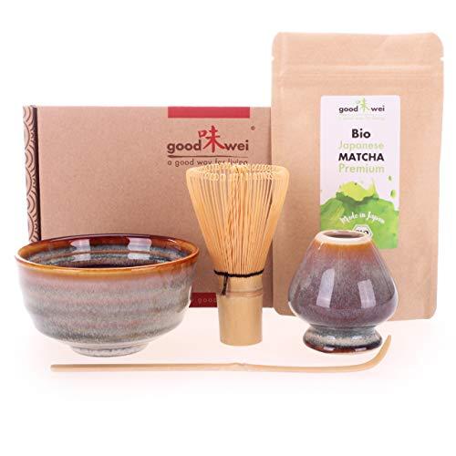 Matcha Komplett-Set inkl. Bio Matcha-Tee (Uji)