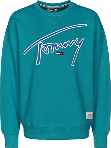 Tommy Jeans Signature Sweater Enamel Blue