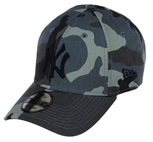 New Era New Era New York Yankees Cap Verstellbar 9forty Herren Damen MLB Camo Blau - One-Size -