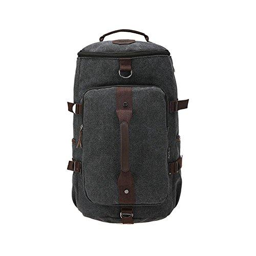 SZH&BEIB Fashion Canvas Rucksack Unisex im Freien Spielraum Lässige Daypack Laptop-Taschen für die Schule C