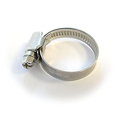 Hose clamp 20 - 32mm, for Drain hoses by der-Schlauchfritze.de