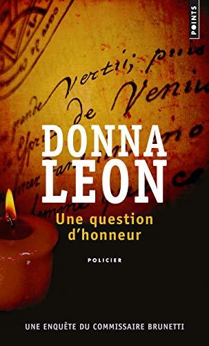 Une question d'honneur par Donna Leon