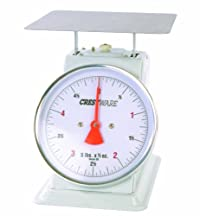 Crestware Heavy Duty Scale 8-Inch Dial Face, 20-Pound by 1-Ounce