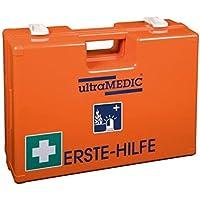 Verbandskasten Erste-Hilfe ultraRESCUE&FIRE, mit Füllung für Krankentransport- und Feuerwehrwagen, Farbe blau-weiß preisvergleich bei billige-tabletten.eu