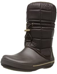 Crocs CrocbandTM II.5 Winter Boot Women - Botas de nieve, color: Blanco