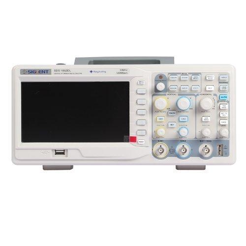 Siglent SDS1052DL - Oscilloscopio digitale a 2 canali con schermo a 7', TFT LCD, 50 MHz, 100-240 V