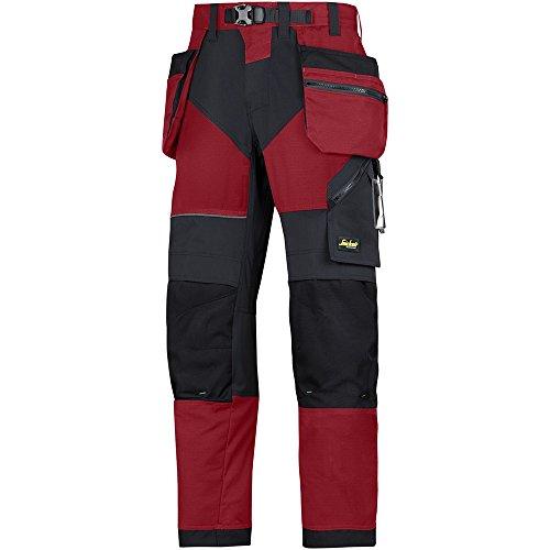 snickers-69021604196-flexiwork-pantalon-de-trabajo-con-bolsillos-holster-talla-196-rojo-chili-negro