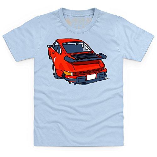 nine-eleven-red-sports-car-kinder-t-shirt-kinder-himmelblau-s