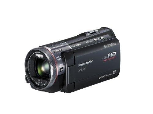 Panasonic HC-X909EG-K Full-HD Camcorder (8,8 cm (3,4 Zoll) Display, 12-fach opt. Zoom, 3MOS System Pro, Leica Objektiv, 29,8mm Weitwinkel, 3D-Option) schwarz