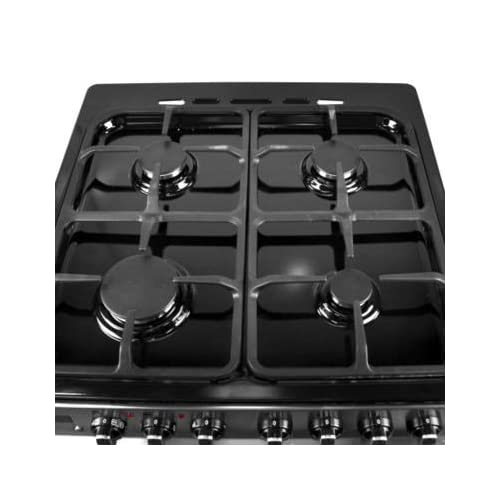 41OchnsRhOL. SS500  - iQ 60cm Double Oven Dual Fuel Cooker - Stainless Steel