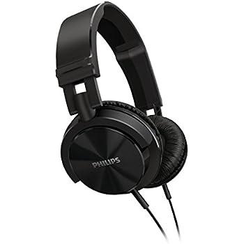 Philips SHL3000 Casque Audio Filaire avec Basses Profondes, Ultraléger et Pliable, Résistant, Noir
