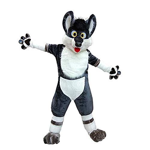 Team Wolf Kostüm - SANEYDER Husky Wolf Hundekostüm,