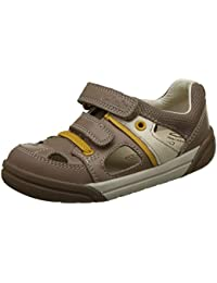 Clarks Boy's Balmy Drum Inf Leather Sneakers