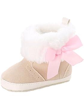 Baby Schuhe Auxma Baby Mädchen Weiche Sohle Schneeschuhe Weiche Krippe Schuhe Kleinkind Stiefel für 0-18 Monate