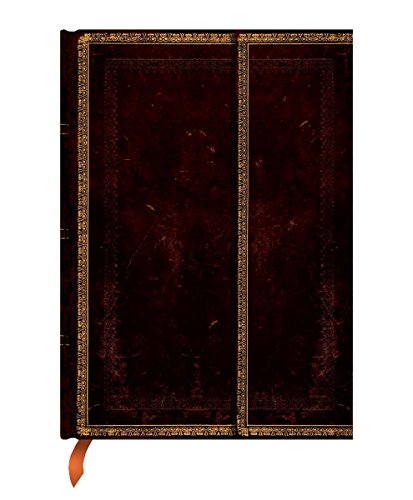 Paperblanks - Faux Leder Marokkoleder - Notizbuch Ultra Liniert (Old Leather)