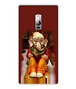 PrintVisa Designer Back Case Cover for OnePlus 2 :: OnePlus Two :: One Plus 2 (Red Modern Illustration Natural Religion Culture Deity Hindu)