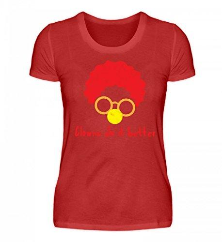 ClassicLounge Hochwertiges Damenshirt - Clown - Zirkus - Geschenk - Karneval - Kostüm - Circus - Gift: Clowns Do It Better