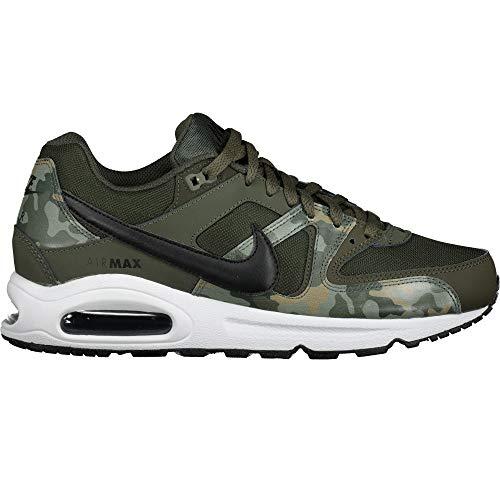 NIKE Herren Air Max Command Sneakers, Mehrfarbig (Sequoia/Black/White 001), 43 EU