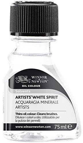 Winsor & Newton 3021738 Künstler Terpentinersatz, hochwertiger Verdünner für Ölfarben und Malmittel, 75ml Flasche