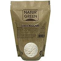 NaturGreen Coco desecado rallado fino - Pack de 12 unidades de 125 gr