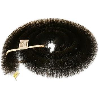 Hedgehog Gutter Brush Leaf Guard Leaf Filter Black 4m