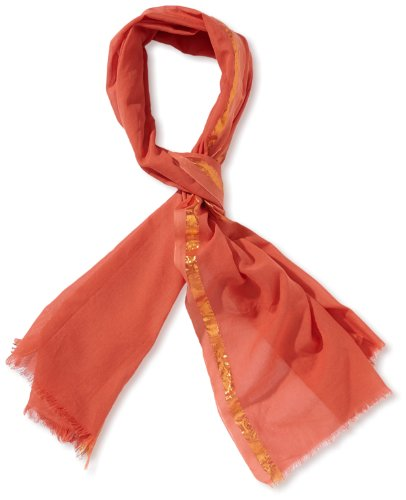 MEXX Damen Tuch 3FFWS001-1, Gr. one measure, Orange (806)
