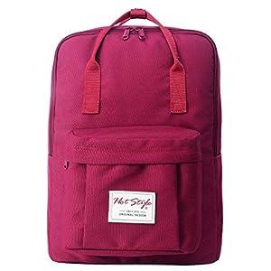 41Ocn8pU36L. SS300  - Mochila Escolares Viaje Ligero Impermeable para Notebook 15-Inch (39x27x14cm)