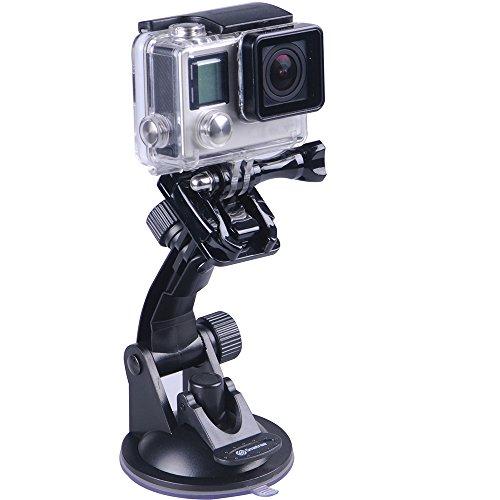 Smatree Supporto a Ventosa per GoPro Hero 6/5/4/3+/3/2/1/ Hero Session