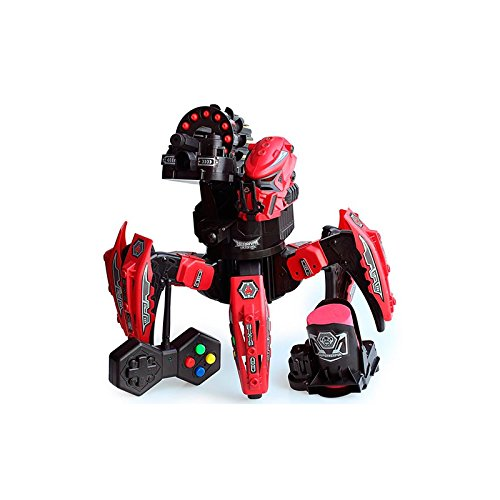 Robot-Rc-Star-Warrior-DIY-para-Batalla-2-Tipos-de-Armas-Dispara-Misiles-y-Discos-Robtica-Rojo