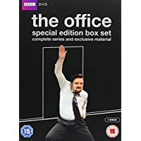 The Office 10th Anniversary Edition - Complete Series 1 & 2 and the Christmas Specials