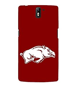 EPICCASE Pumba the Pig Mobile Back Case Cover For OnePlus One (Designer Case)