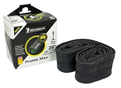 Michelin 0326Pm Chambre à air vélo Mixte Adulte, Noir, 26x1.85/2.30