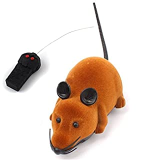 Anano Mouse Cat Toys,Wireless Electronic Remote Mini Mouse Cat Toy for Cat Playing