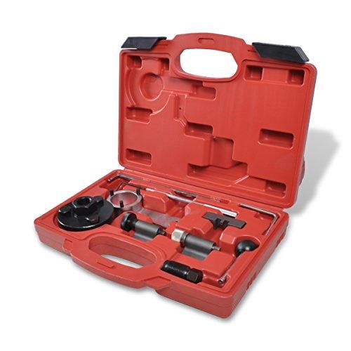 vidaXL Motor Einstellwerkzeug 10-tlg. Zahnriemen Steuerriemen Werkzeugsatz