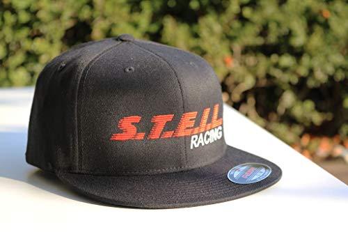 L/s Panel (Speed-Biker / S.T.E.I.L.-Racing Cap - 6 Panel Flexfit® Flat Peak Cap, Größe:S/M)