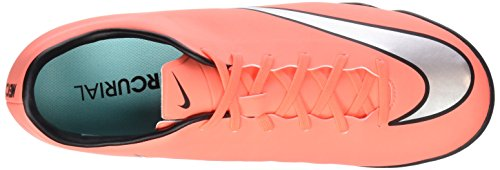 Nike Mercurial Victory V Tf, Chaussures de Football Compétition Homme Multicolor  (Brght Mng / Mtllc Slvr-Hypr Trq)