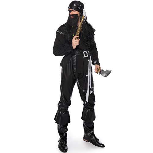 TTWL Halloween Kostüm Herren M-XXL Piraten Spiel Anime Cosplay Stage Performance L