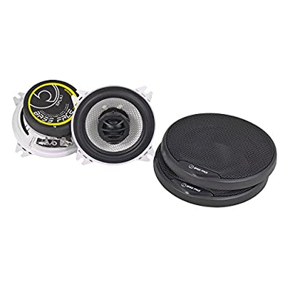Bass Face SPL4.1 400W 4 inch Coaxial Car Speakers Pair