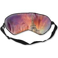 Damen und Herren Schlafmaske Eiffelturm Paris Frankreich mit verstellbarem Riemen preisvergleich bei billige-tabletten.eu