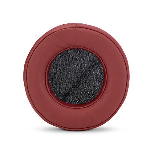 Brainwavz Round Spare Memory Foam Pads - Suitable for Many Other Large Over-Ear Headphones - Sennheiser, AKG, HifiMan, ATH, Philips, Fostex, Sony