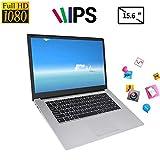 Tosuny Ordinateur Portable 15,6'- YEPO N15 Écran IPS 15,6 Pouces IPS 1920 x 1080 HD Ordinateur Portable pour Windows 10, pour processeur Intel Celeron N3350, DDR3 6 Go, EMMC 64 Go(UE)