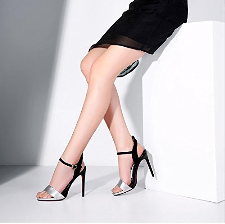 chaussures à talons hauts - Rainbow 2018 Stiletto Nouveau, 11.5cm  s Stiletto 2018 Femmes Colorblock Mot imperméable à...B07CZ4SJX9Parent f45837