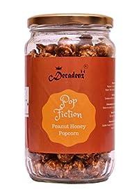 Pop Fiction Gourmet Peanut Honey Popcorn || 150 GMS Jar