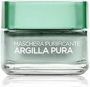 L'Oréal Paris Detergenza Maschera per il Viso Argilla Pura Maschera Viso Purificante, 5