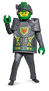 LEGO Nexo Knights 10419l Aaron Deluxe Disfraz (Tamaño pequeño)